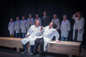 Atelier intergénérationnel théâtre des Bains Douches