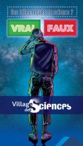 Affiche Village des sciences 2018