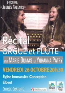 concert orgue et flûte