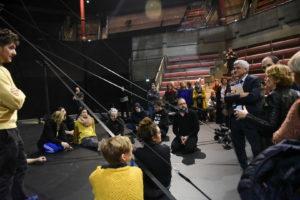 visite au théâtre cirque d'Elbeuf