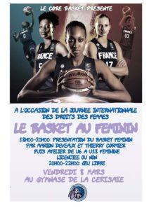 Le Basket au féminin