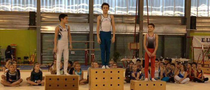 NR Gym se distingue au championnat de Seine-Maritime