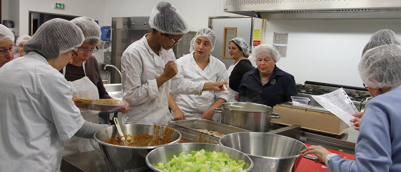 Cuisine et partage - Collège Mandela