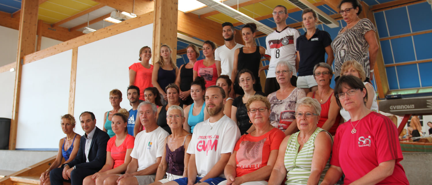Formations nationales de gym senior à Elbeuf