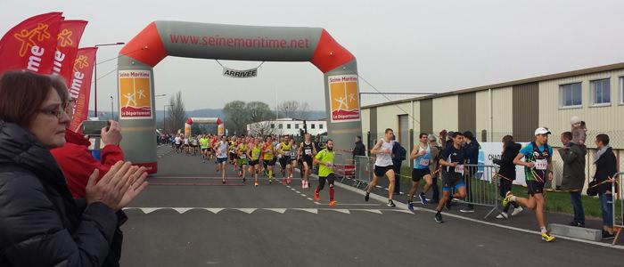 Semi marathon et 10 km Boucles de Seine