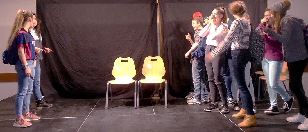 Théâtre-forum au collège Mandela