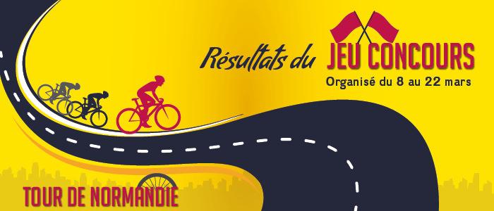 Jeu concours Tour de Normandie