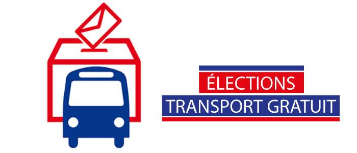 Élections - Transport gratuit