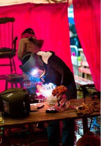 Atelier scénographie pour le Cirque-Théâtre d'Elbeuf