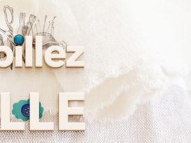 Habillez la ville, projet textile