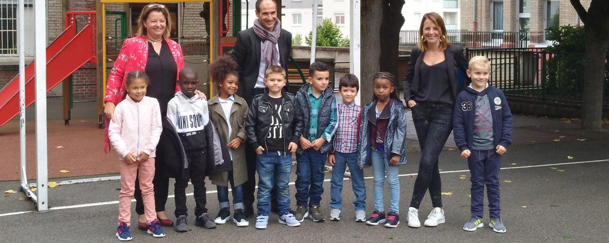 Rentrée scolaire 2017-2018 / école Mouchel
