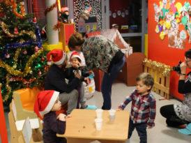 Fête de Noël dans les crèches