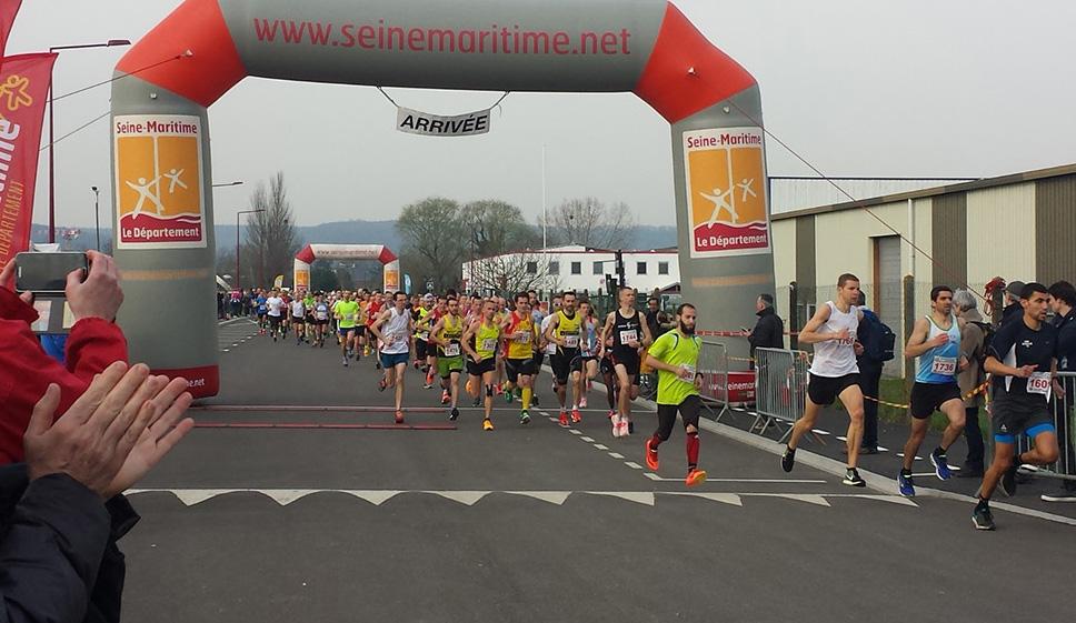 Semi-marathon des Boucles de la Seine 2017