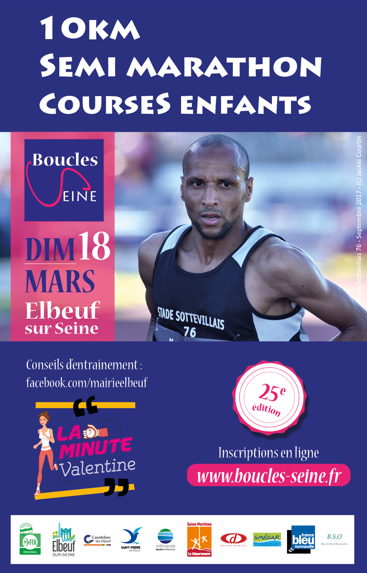 Semi-marathon et 10 km Boucles de Seine