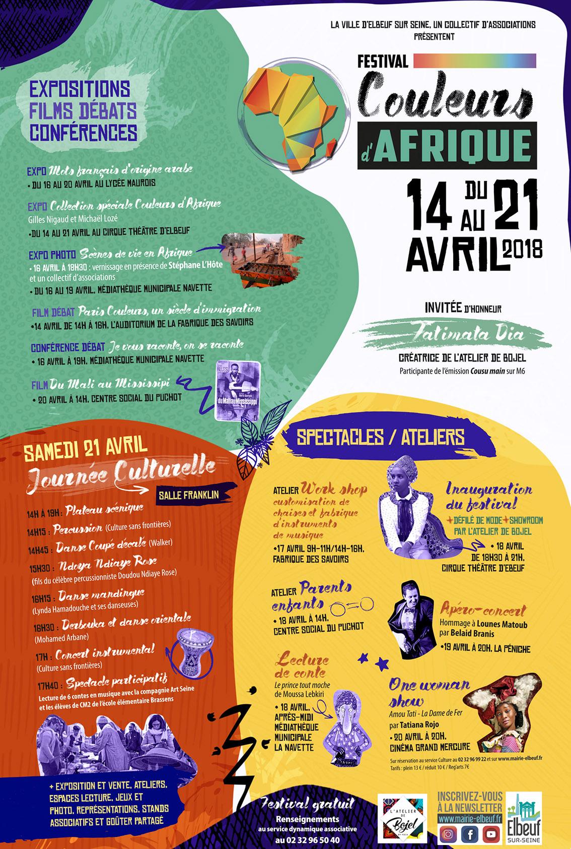 Festival Couleur d'Afrique 2018