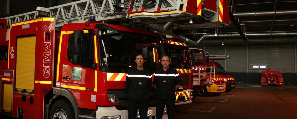 Les pompiers Elbeuf