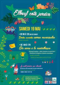 affiche Côté jardin