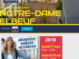 Portes ouvertes lycée Notre Dame