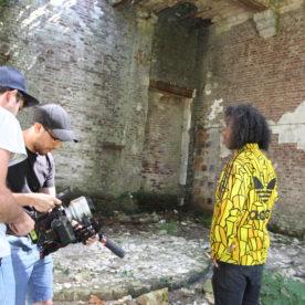Loya, tournage du clip Amba