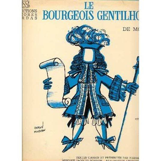 Affiche Le bourgeois gentilhomme