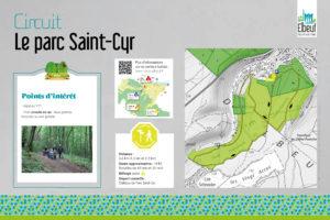 Sentier de randonnée balisé du Parc Saint-Cyr