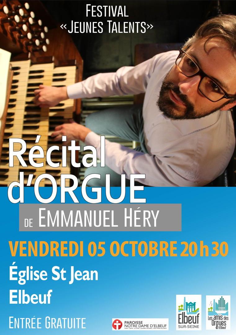 Emmanuel Héry, concert d'orgue