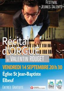 Valentin Rouget récital orgue