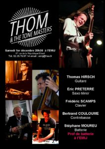 Thom and the tones masters