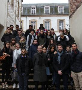 Delegues du lycée Notre Dame