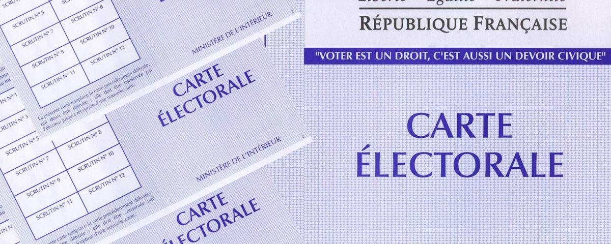 inscription listes electorale