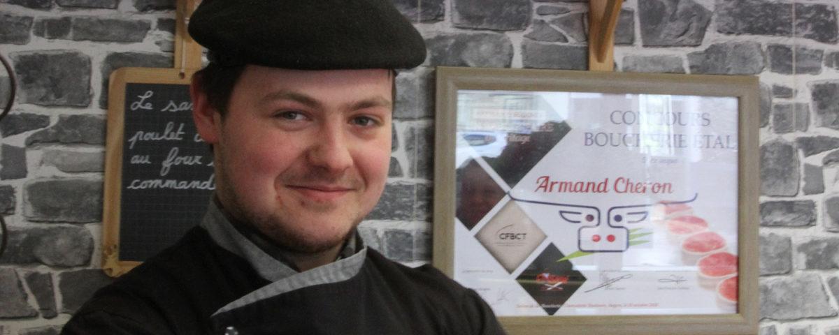 Armand Chéron Un as de la boucherie