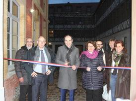 Inauguration des logements de la manufacture Houiller