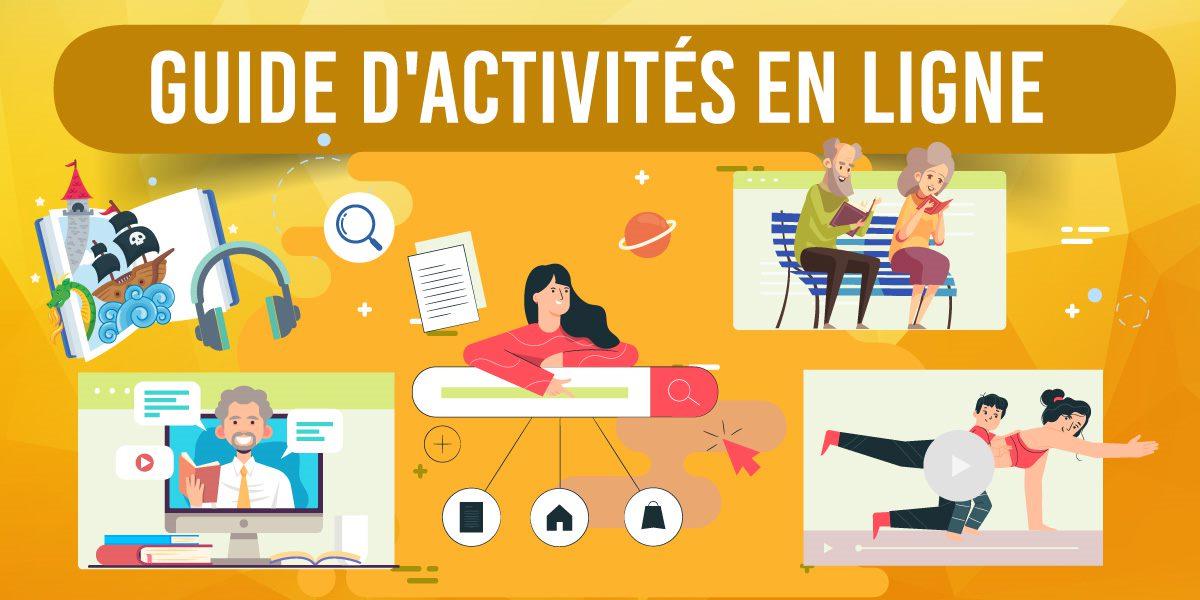 guide activités en ligne